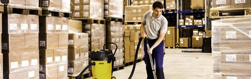 Warehouse cleaning procedure